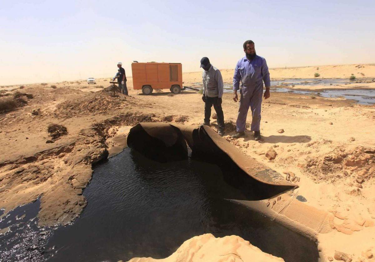 libyan oil pipelines