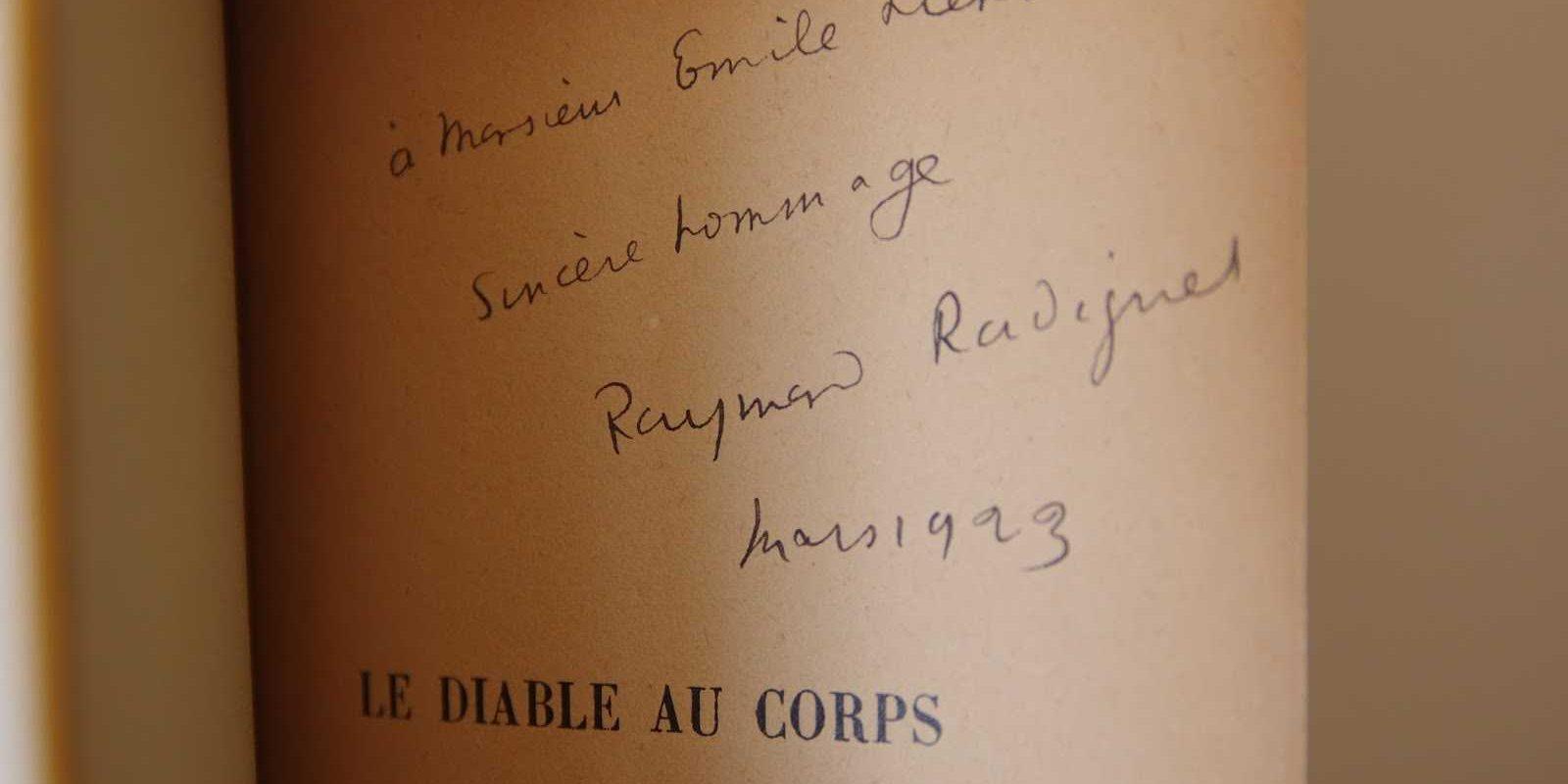 raymond radiguet signature