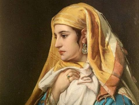 jan frans portaels painting of fatima al fihri