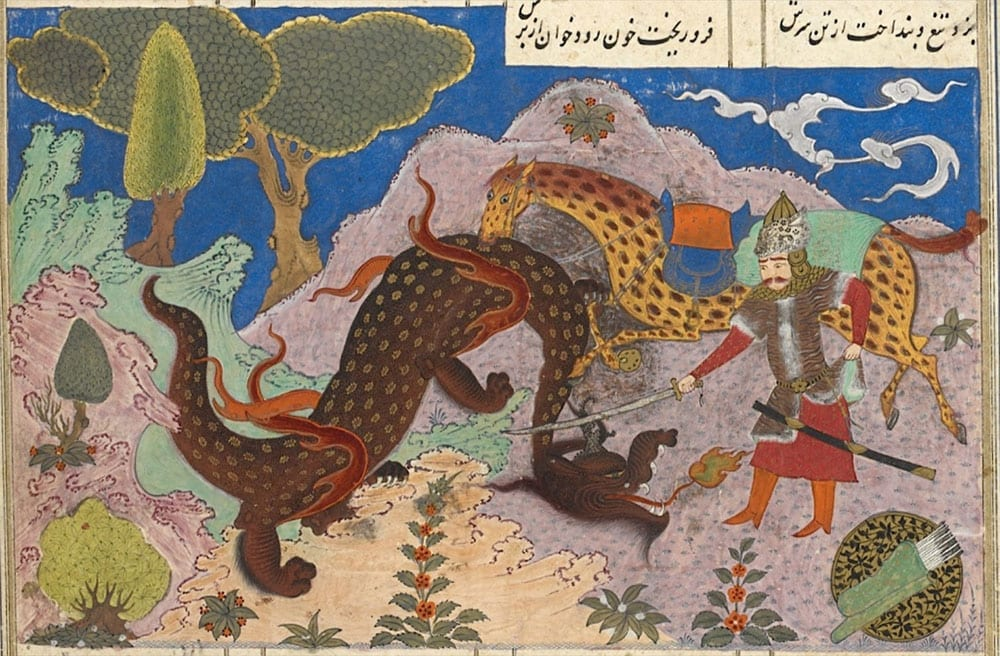 rostam in persian mythology